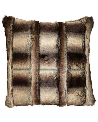 Faux-Fur Pillows & Bed Shams