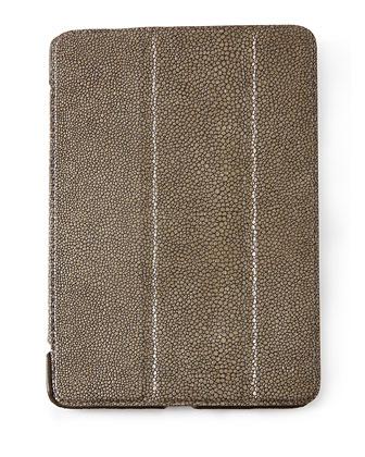 Stingray-Embossed Leather iPad Cases