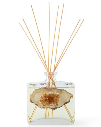 Natural Stone Reed Diffuser, Candle, & Tray