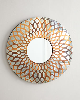 Russell Copper-Foil Mirror