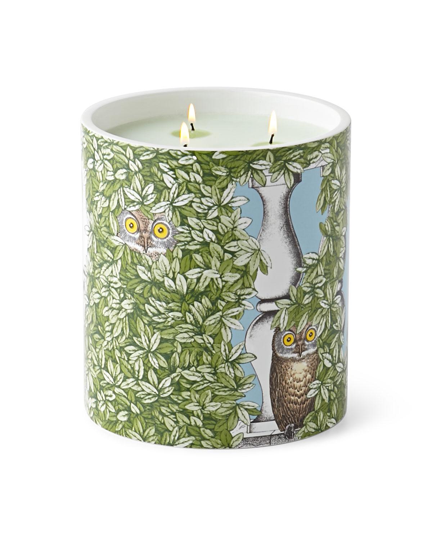 Fornasetti Giardino Segreto Three-Wick Scented Candle, Multi Colors - Neiman Marcus