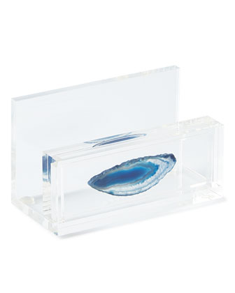 Azure Eiro Business Card Holder