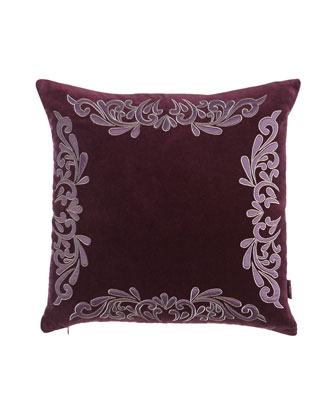 Plum Pillows & Throw