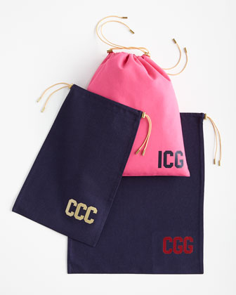 Monogram Travel Bag Set