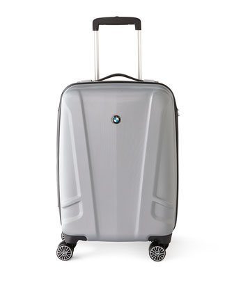 Silver Hardside Luggage