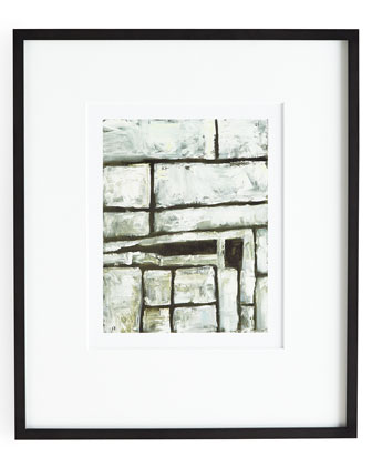 A Black & White Square Giclee