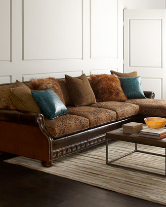 Autumn Jade Sectional Sofa