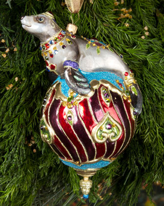 Seal Christmas Ornament