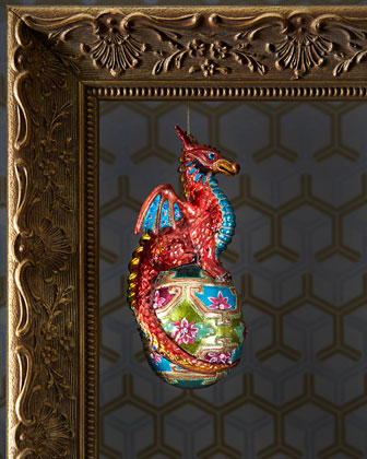 Dragon Christmas Ornament