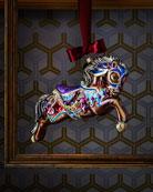 Carousel Horse Christmas Ornament