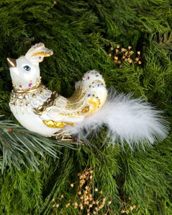 Exotic Bird Clip Ornament