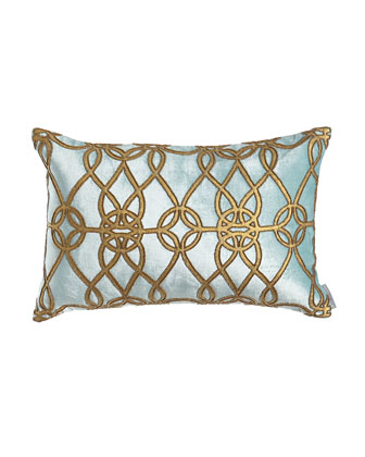 Blue & Gold Pillows