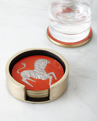 Zebra Coasters
