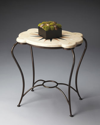 Wrought Iron Accent Table