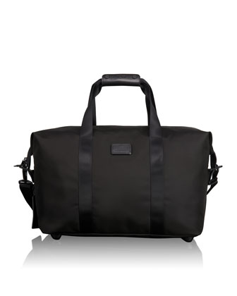 Alpha 2 Black Small Soft Travel Satchel