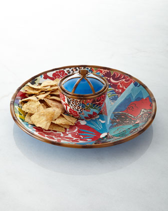 Three-Piece Chip & Dip Set
