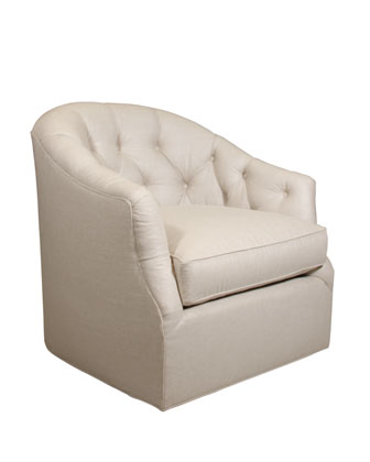 SOUTHERN FURNITURE-UPHOLESTRY Rae St. Clair Swivel Chair