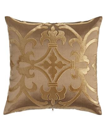 Gold Olivia Pillow, 20