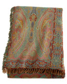 Desiree Paisley Bed Scarf, 98