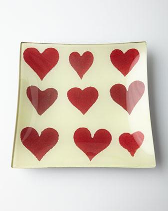 Hearts Tray