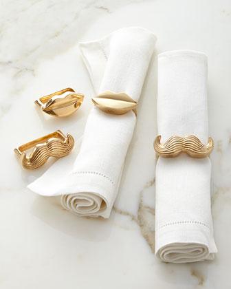 Mr. & Mrs. Muse Napkin Rings, Set of Four