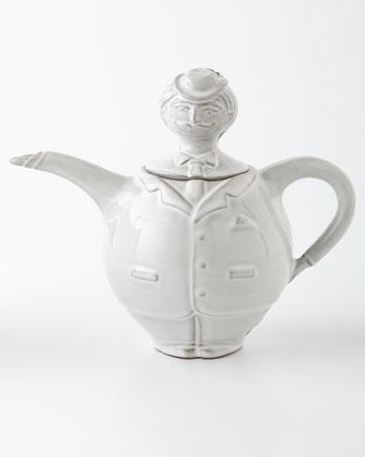 Jack Sprat Creamer, Sugar Bowl, & Teapot