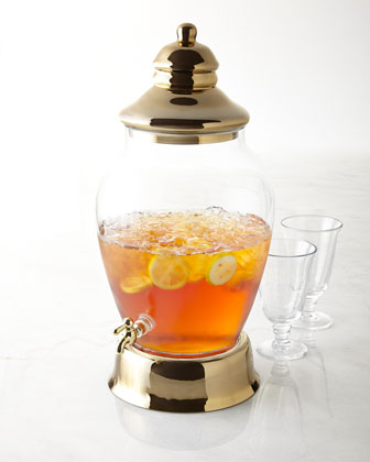 Golden Accent Beverage Dispenser