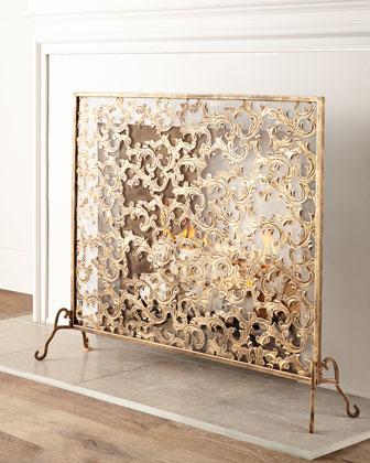 Windsong Fireplace Screen