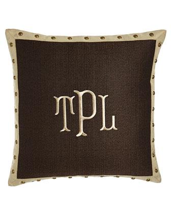 Monogrammed Pillow, 20
