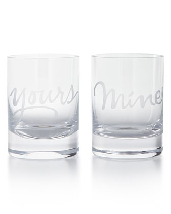Mine & Yours Glassware