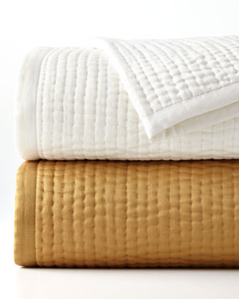 Channel-Quilted Bedding