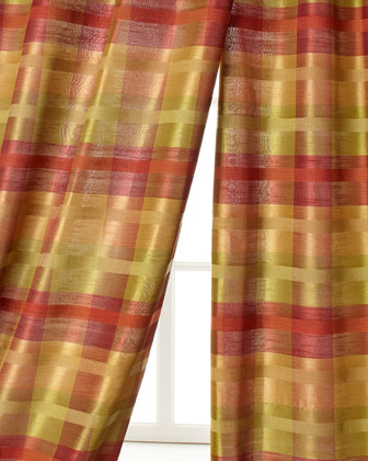 Peyton Plaid Curtains