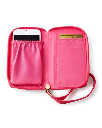Jungle Tumble Smartphone Wristlet & Medium Cosmetic Case