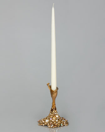 Bejeweled Small Candlestick