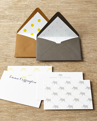 25 Young Children's Personalized Mini Notes