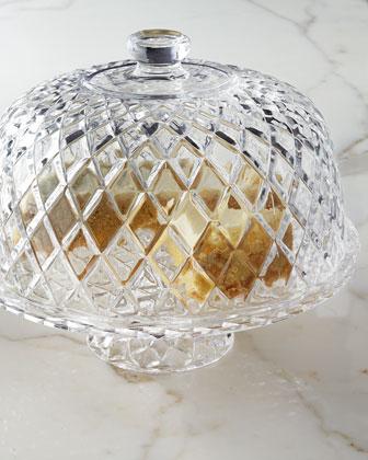 Muirfield Cake Plate with Dome