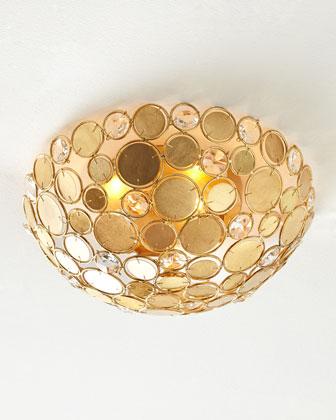 Kiara Three-Light Ceiling Fixture
