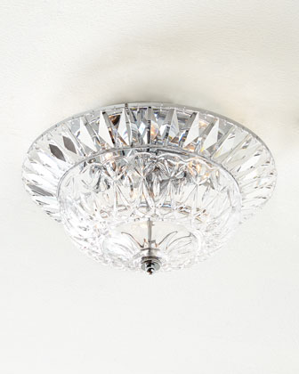 Spontaneous Crystal Flush Mount Ceiling Fixture