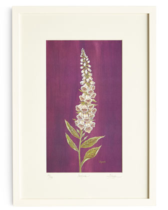 Lyndi Lende Shades of Purple Wall Gallery