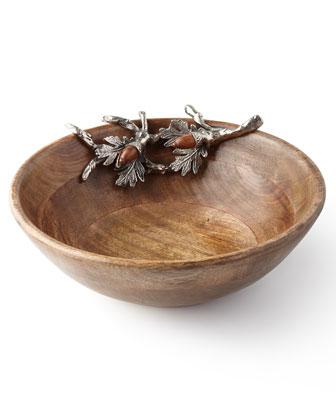Acorn Serving Bowls and Serving Board