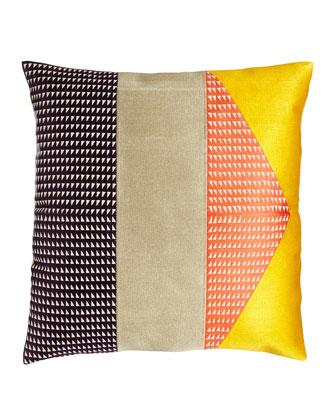Delta Tiburon Embroidered Pillow