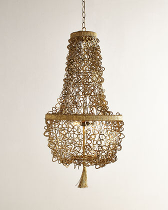 Malibu Two-Light Chandelier