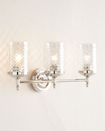 Riordan Three-Light Sconce