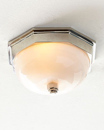 Dome Flush-Mount Ceiling Fixture