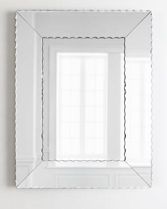 Scallops Small Mirror