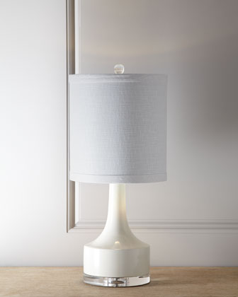 Holmby White Table Lamp