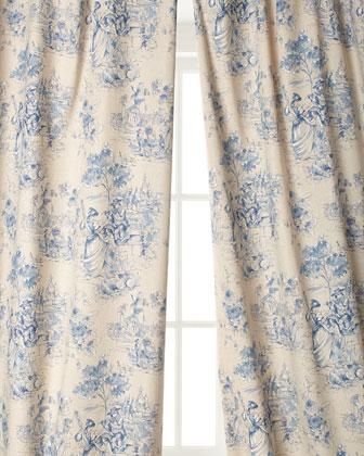 Elizabethan Toile Curtains