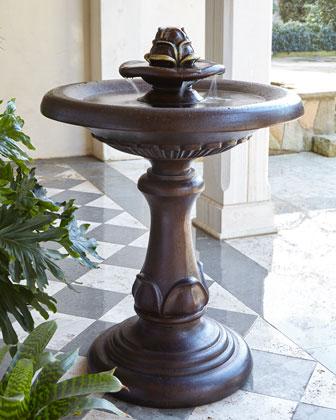 Artichoke Stonecast Fountain