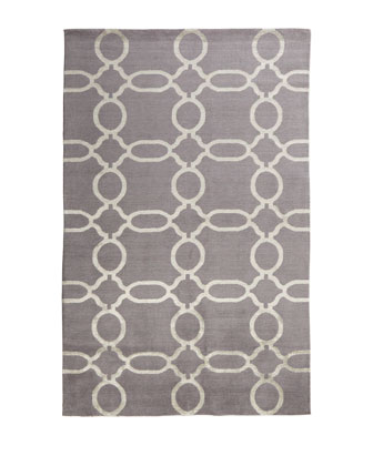 Gray Links Rug