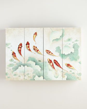 Koi Flat-Screen TV Wall Cabinet